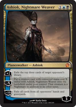 Ashiok, Nightmare Weaver - Foil