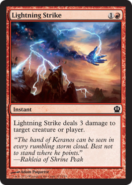 Lightning Strike - Foil