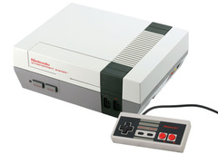 System: Nintendo Entertainment System Front Loader aka NES
