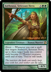 Anthousa, Setessan Hero - Foil - Prerelease Promo on Channel Fireball