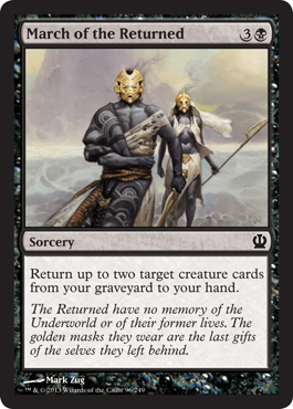 March of the Returned - Foil