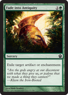 Fade into Antiquity - Foil