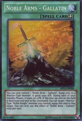 Noble Arms - Gallatin - AP03-EN008 - Super Rare - Unlimited Edition on Channel Fireball