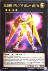 Number 102: Star Seraph Sentry - JOTL-EN053 - Rare - Unlimited Edition