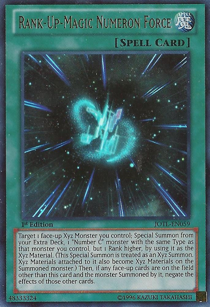 Rank-Up-Magic Numeron Force - JOTL-EN059 - Ultra Rare - Unlimited Edition
