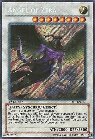 Angel of Zera - JOTL-EN087 - Secret Rare - Unlimited Edition