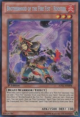 Brotherhood of the Fire Fist - Rooster - JOTL-EN094 - Secret Rare - Unlimited Edition