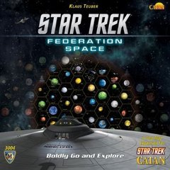 Star Trek: Catan Federation Space Map Set