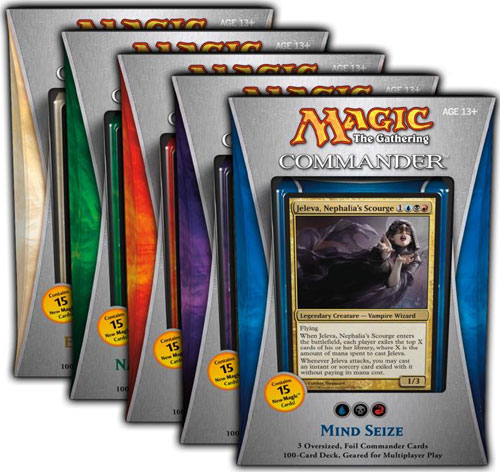 Commander 2013 - Complete Set of 5