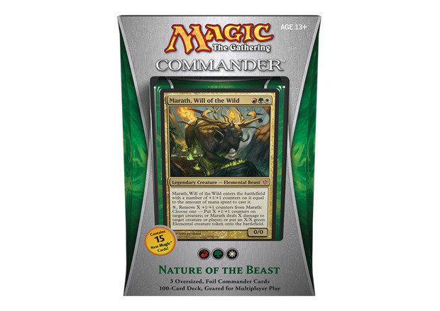 MTG Commander 2013 Deck: Nature of the Beast