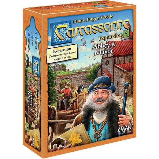 Carcassonne Expansion 5: Abbey & Mayor (2017)