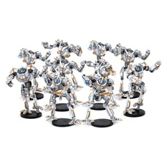 Dreadball Team Chromium Chargers Robot Team (10 Players)