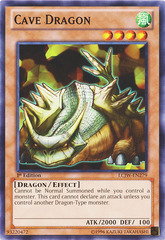 Cave Dragon - LCJW-EN279 - Common - 1st Edition