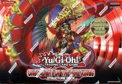 Onslaught of the Fire Kings Structure Deck 1st Edition Box