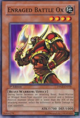 Enraged Battle Ox - DPKB-EN018 - Common - Unlimited Edition