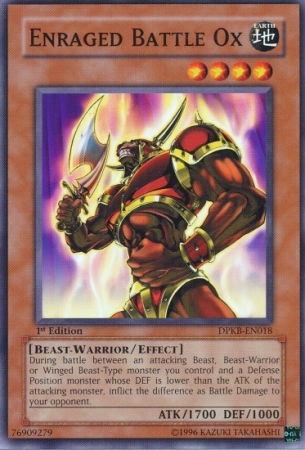 Enraged Battle Ox - DPKB-EN018 - Common - Unlimited Edition