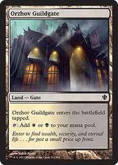 Orzhov Guildgate on Channel Fireball