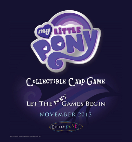 My Little Pony Collectible Card Game Twilight Sparkle & Applejack Theme Deck