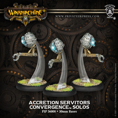 (36008) Convergence of Cyriss:  Accretion Servitors Solos (White Metal)