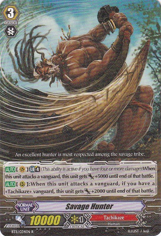 Savage Hunter - BT11/034EN - R
