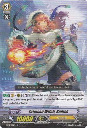 Crimson Witch, Radish - BT11/055EN C