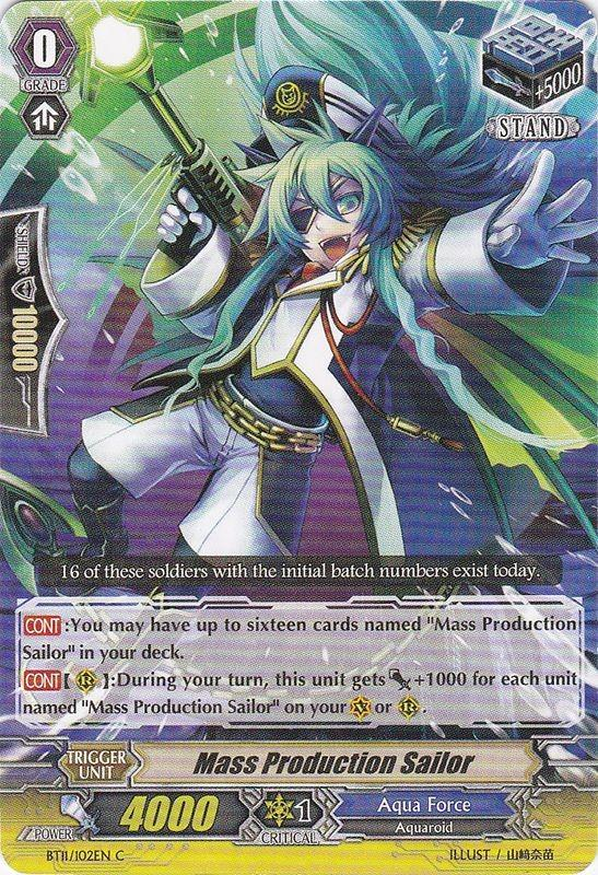 Mass Production Sailor - BT11/102EN - C