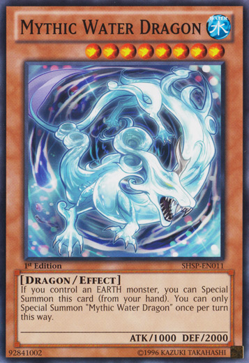 Mythic Water Dragon - SHSP-EN011 - Common - 1st Edition