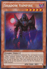 Shadow Vampire - SHSP-EN030 - Secret Rare - 1st Edition