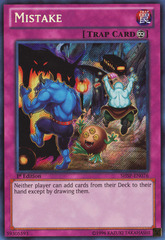 Mistake - SHSP-EN076 - Secret Rare - 1st Edition