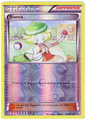 Bianca - 109/113 - Uncommon - Reverse Holo on Channel Fireball
