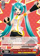 Hatsune Miku Rin-chans #1 Fan - PD/S22-E058 - U