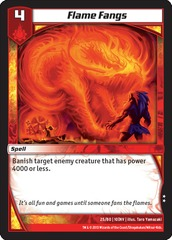 Flame Fangs on Channel Fireball