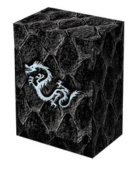 Dragon Hide Deck Box Black