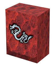 Dragon Hide Deck Box Red