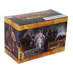 The Lord of the Rings: The Two Towers HeroClix Single-Figure Team Pack