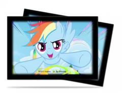 Sleeves My Little Pony Small Size - Rainbow Dash 60ct