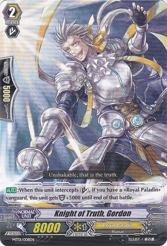 Knight of Truth, Gordon - MT01/008EN