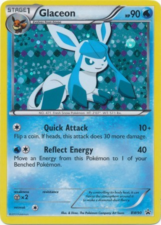 Glaceon - BW90 - Promotional