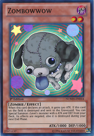 Zombowwow - NUMH-EN014 - Super Rare - Unlimited