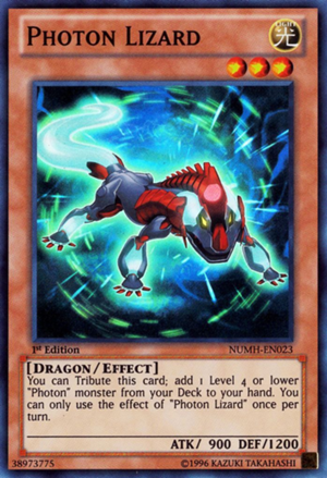 Photon Lizard - NUMH-EN023 - Super Rare - Unlimited