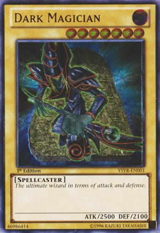 Dark Magician - YSYR-EN001 - Ultimate Rare - 1st Edition