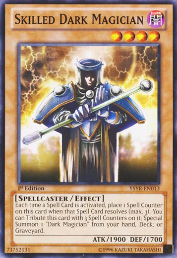 Skilled Dark Magician Ysyr En013 Common 1st Edition Yu Gi Oh