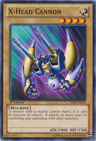 X-Head Cannon - YSKR-EN008 - Common - 1st Edition