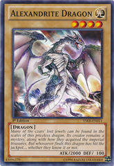 Alexandrite Dragon - YSKR-EN011 - Common - 1st Edition on Channel Fireball