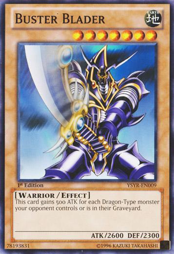 Buster Blader Ysyr En009 Common 1st Edition Yu Gi