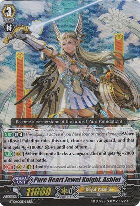 Pure Heart Jewel Knight, Ashlei - BT10/001EN - RRR