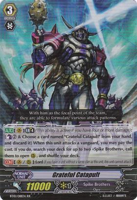 Grateful Catapult- BT10/018EN - RR