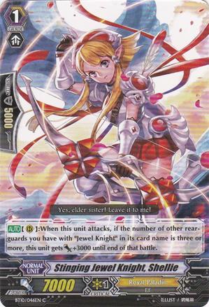 Stinging Jewel Knight, Shellie - BT10/046EN - C