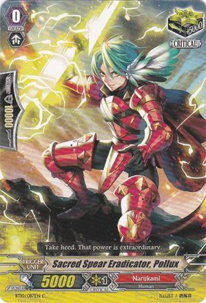 Sacred Spear Eradicator, Pollux - BT10/087EN - C