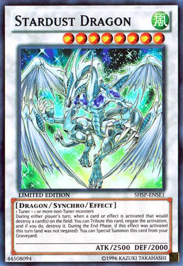 Stardust Dragon - SHSP-ENSE1 - Super Rare - Limited Edition